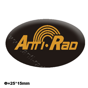Anti Rad  anti radiation sticker