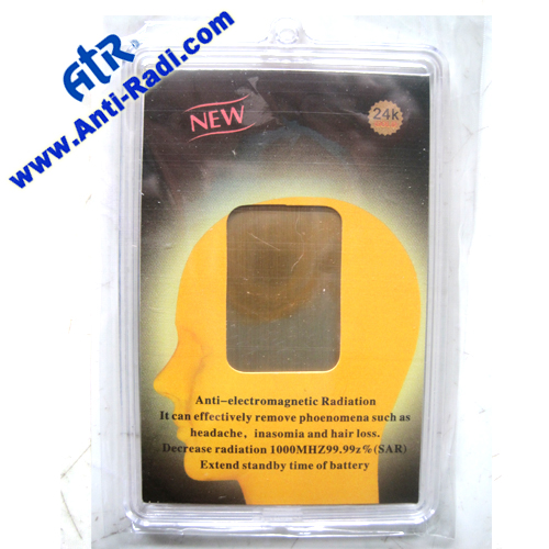 Anti Radiation and Battery salvage sticker