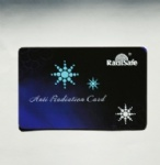 Radisafe electromagnetic radiation Card
